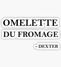 Omelette du fromage Sticker