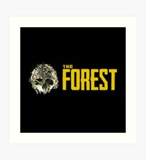 The Forest-game Art Print