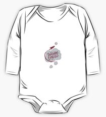 Imagination will take you everywhere Long Sleeve Baby One-Piece