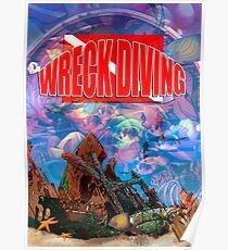Wreck Diving Poster