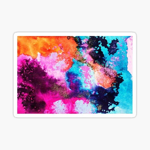 Happy Glitter Sticker