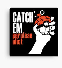 Catch em Canvas Print