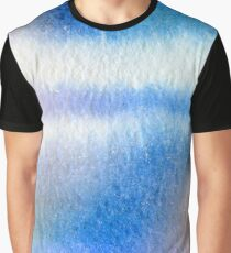 Watercolor- Water on a Window #1 Graphic T-Shirt