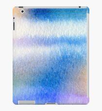 Watercolor- Water on a Window #1 iPad Case/Skin