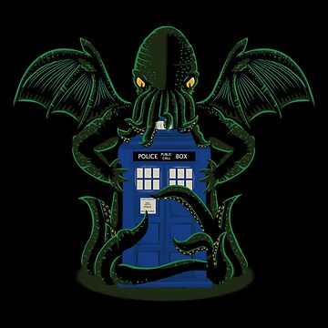 The Doctor Beyond Time T-shirts by BrendaOli