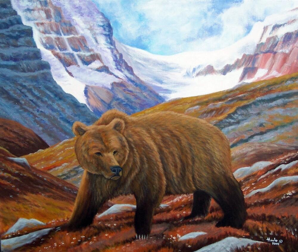 Mountain Wanderer by John Houle