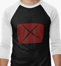 Das Hemd der Strafe Baseballshirt mit 3/4-Arm