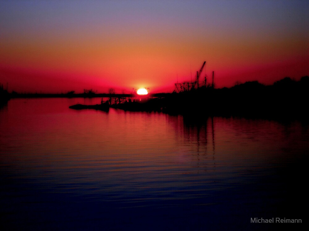 Monkey Island Sunset by Michael Reimann