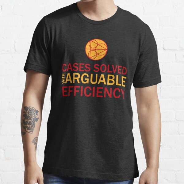 Cases Solved with Arguable Efficiency - Dirk Gently Essential T-Shirt