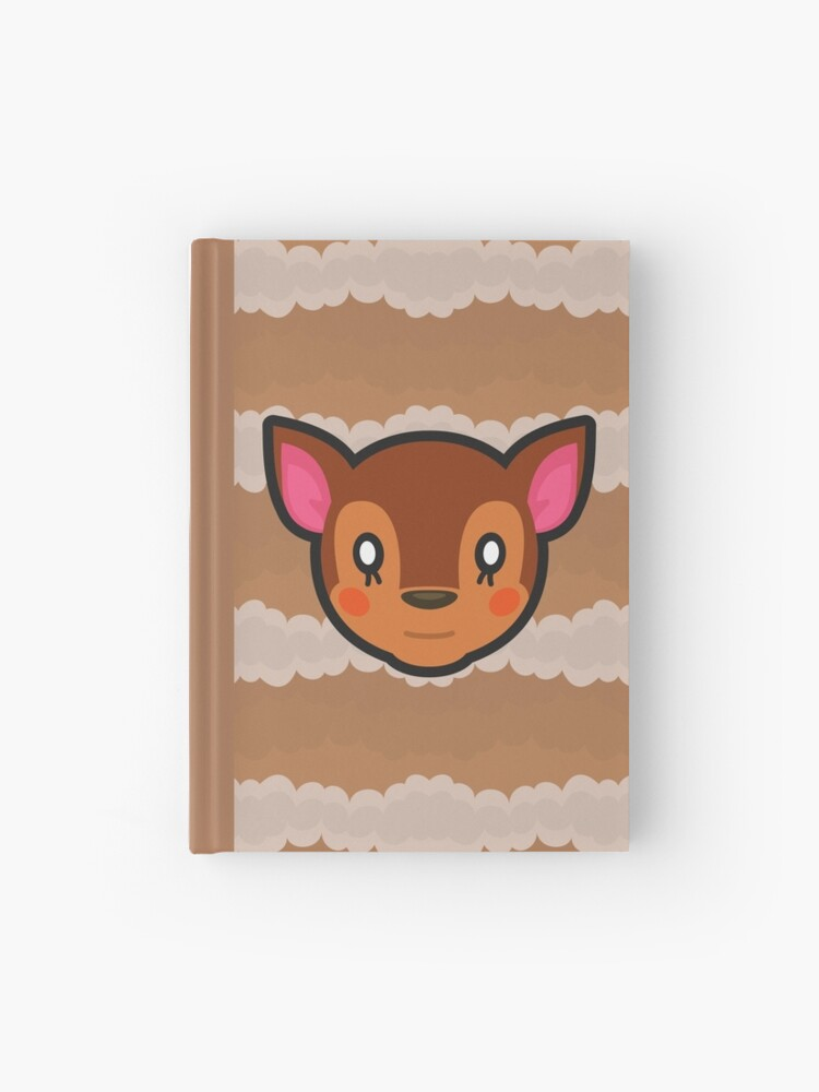 Fauna Animal Crossing Hardcover Journal By Purplepixel Redbubble