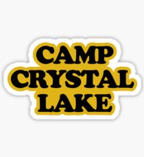 Friday The 13th - Camp Crystal Lake Counselors Shirt Sticker