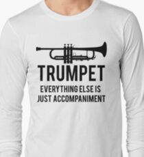 2bfe3fb0 Funny Trumpet Player Long Sleeve T-Shirt