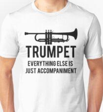 Lustiger Trompeter Unisex T-Shirt