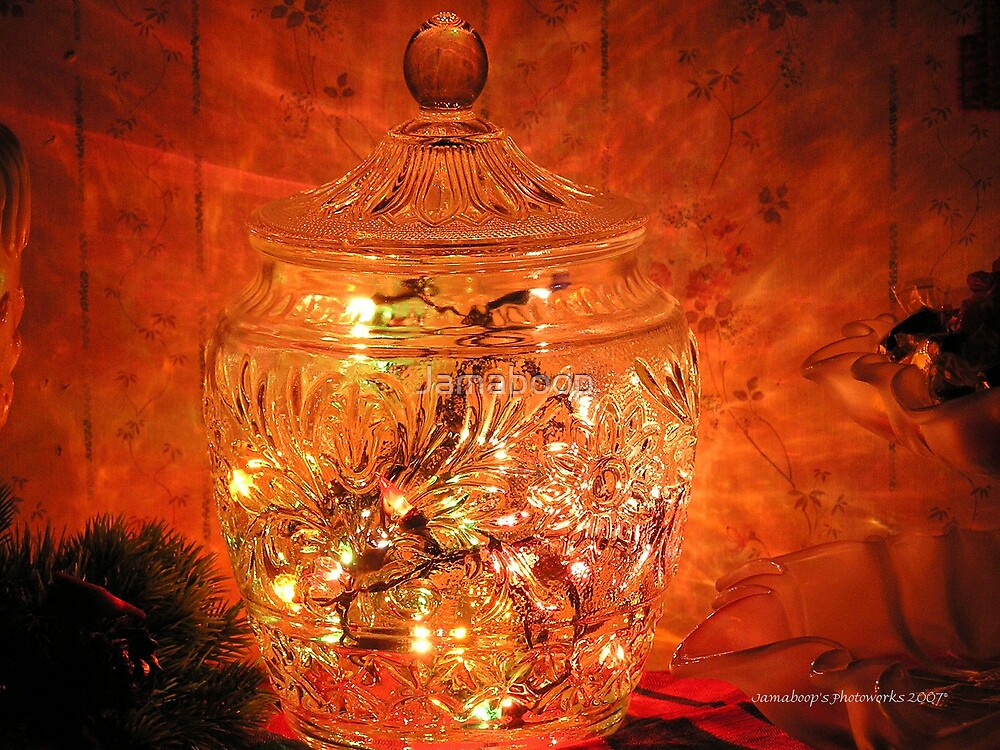 Christmas lights /  Merry Christmas by Jamaboop