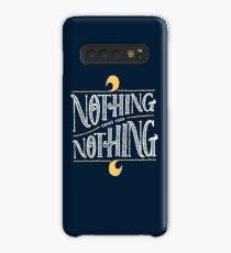 Nothing comes from nothing Case/Skin for Samsung Galaxy