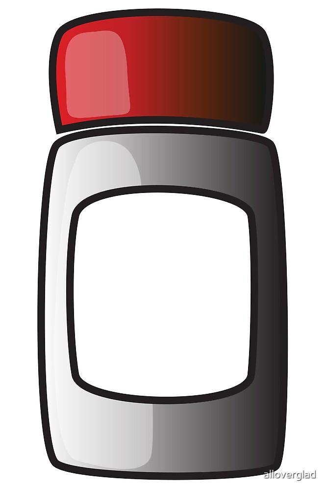 Screw lid tub / jar / bottle by alloverglad