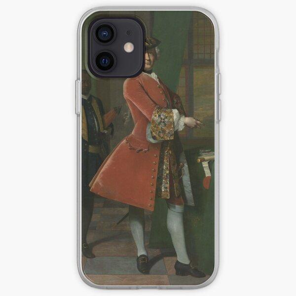 Frans Van Der Mijn - Portrait Of Jan Pranger, 1742 iPhone Soft Case