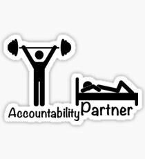 Accountability Partner Sticker