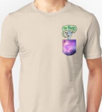Tiny Rick Pocket Unisex T-Shirt