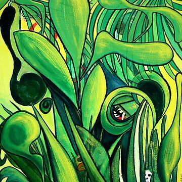 Mayan jungle by huess