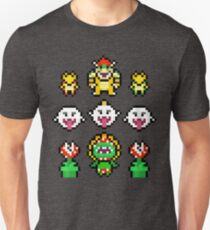 Mario Villains trios Unisex T-Shirt