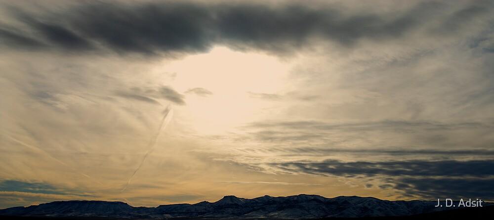 Nevada Setting by J. D. Adsit
