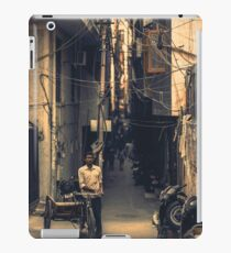 Photography of Motorcyclist in Asia. iPad Case/Skin