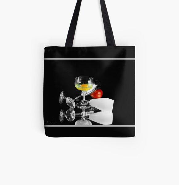Cortazar's Breakfast #B All Over Print Tote Bag