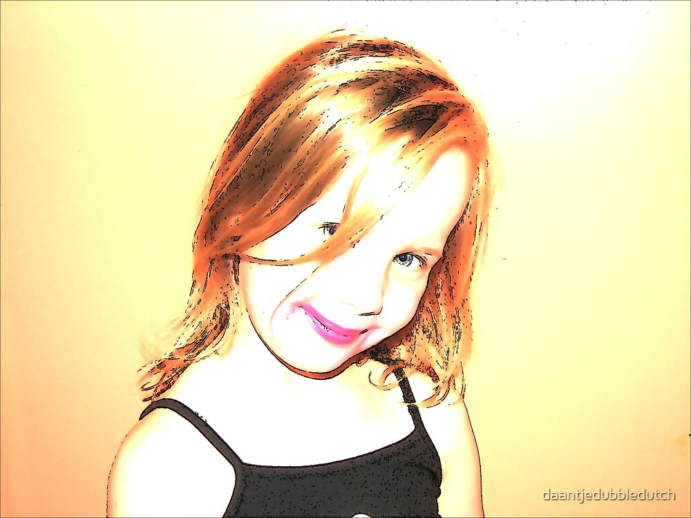 little princess by daantjedubbledutch