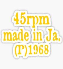 Made In Jamaica Sticker