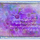 Birthday Wishes to a Friend  by Marilyn Cornwell