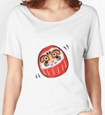 Daruma-san Women's Relaxed Fit T-Shirt