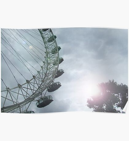 London sk-eye Poster