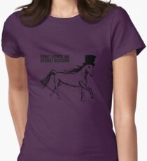 Secret Unicorn Womens Fitted T-Shirt
