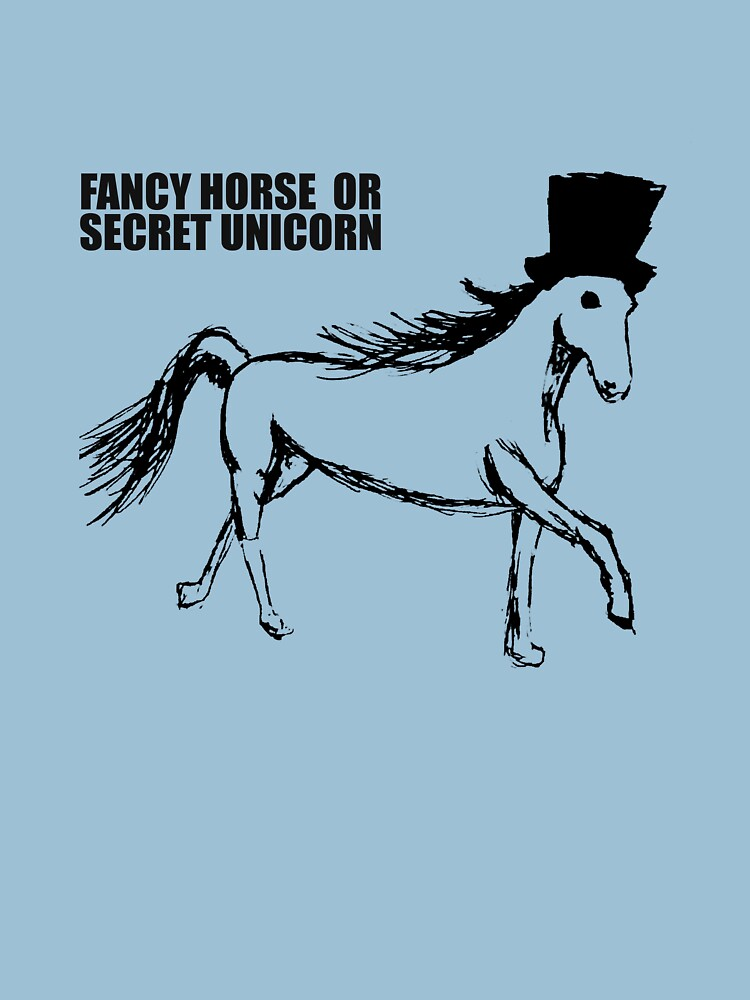 TShirtGifter presents: Secret Unicorn   Unisex T-Shirt