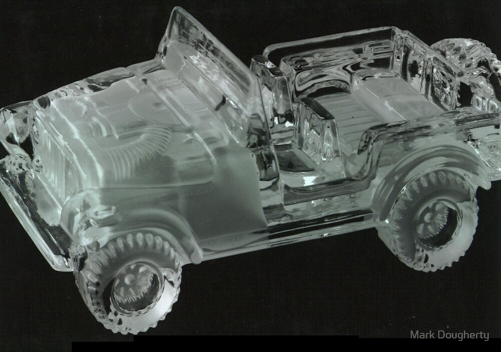 glass jeep by Mark Dougherty