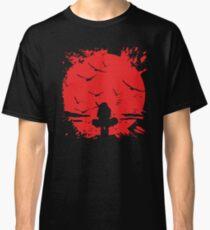 Blood moon Itachi,Naruto Classic T-Shirt