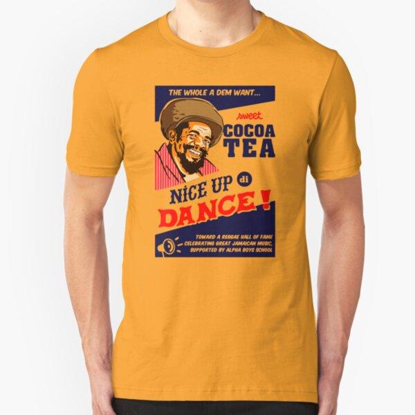 Cocoa Tea Make A Nice Dance Slim Fit T-Shirt