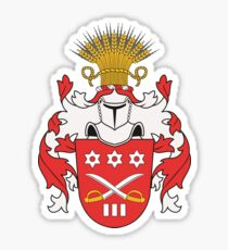 Arponen Coat of Arms Sticker