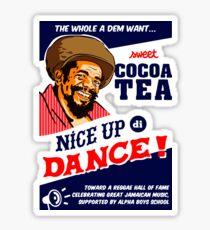 Cocoa Tea Make A Nice Dance Sticker