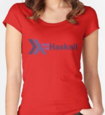 haskell programming language Women's Fitted Scoop T-Shirt