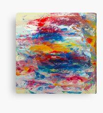 Vibrant Oil Vector Canvas Print