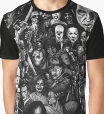 Classic Horror Movies Graphic T-Shirt