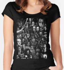 Classic Horror Movies Women's Fitted Scoop T-Shirt