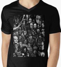 Classic Horror Movies Men's V-Neck T-Shirt