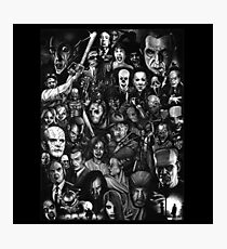 Classic Horror Movies Photographic Print