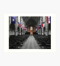 All Saints' Chapel-University of the South Art Print