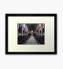 All Saints' Chapel-University of the South Framed Print