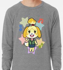 Isabelle of Animal Crossing Lightweight Sweatshirt