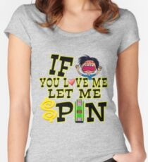 TV Game Show - TPIR (The Price Is...) Let Me Spin Women's Fitted Scoop T-Shirt